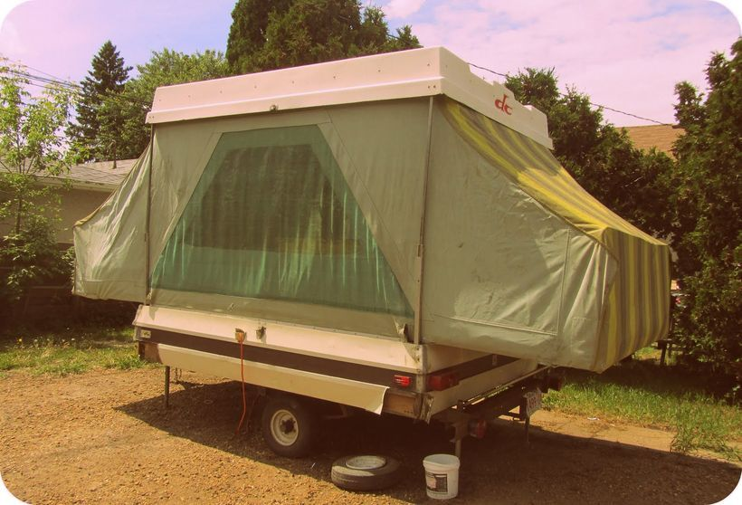 80 Cool RV Camper Trailer PupUp Tent that You Must See