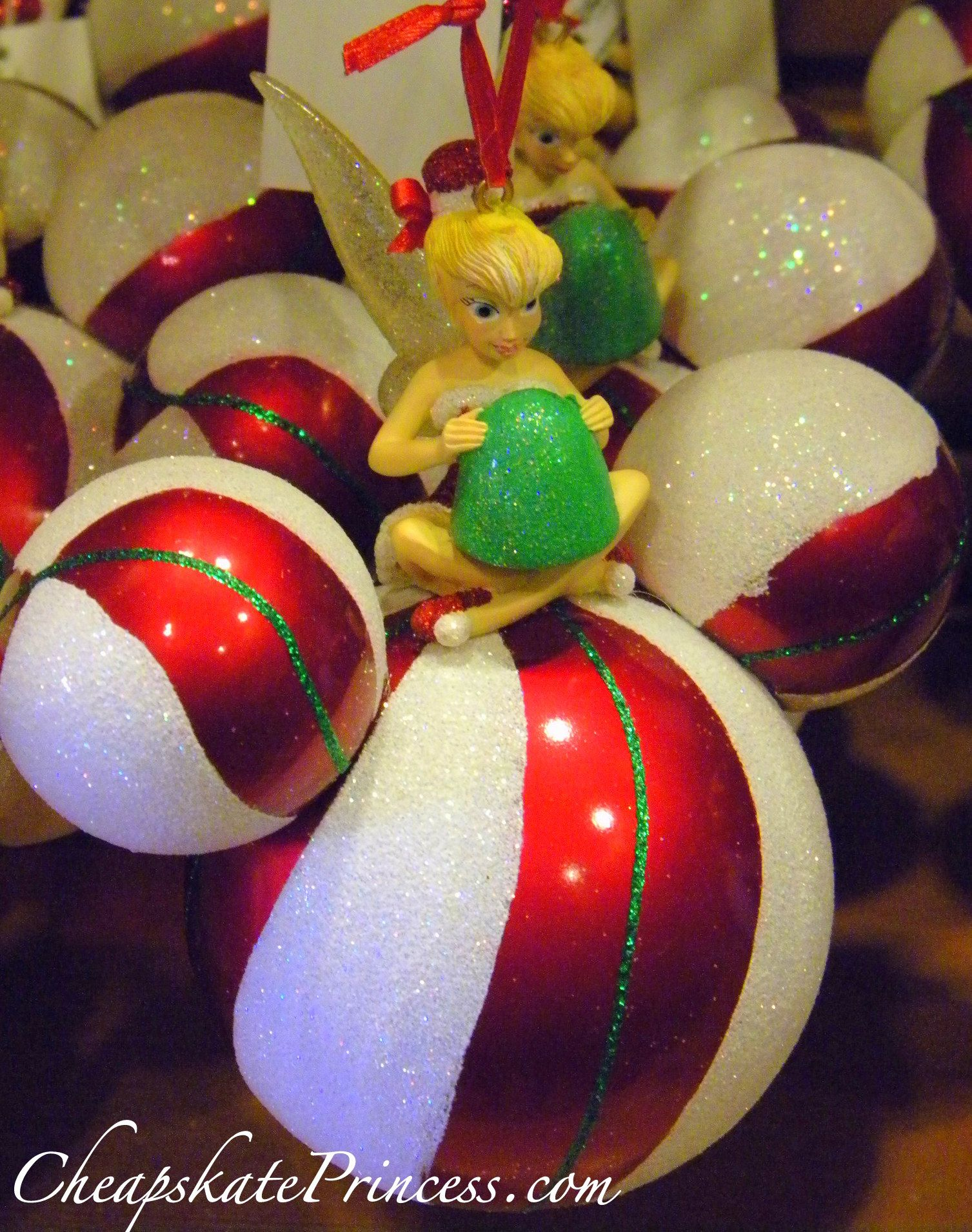 Disney Tinkerbell Christmas Ornament by ENESCO | Tinkerbell and ...