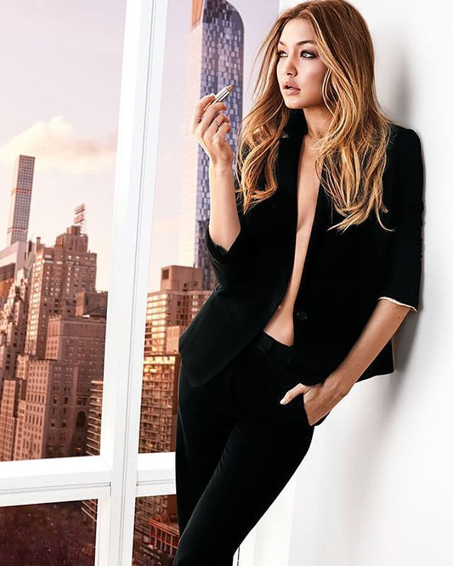 "#NEW Gigi hadid for Maybelline New York ""Color Sensational Inti-Matte Nudes Lipstick"" #model #makeup #gigihadid #makeithappen"
