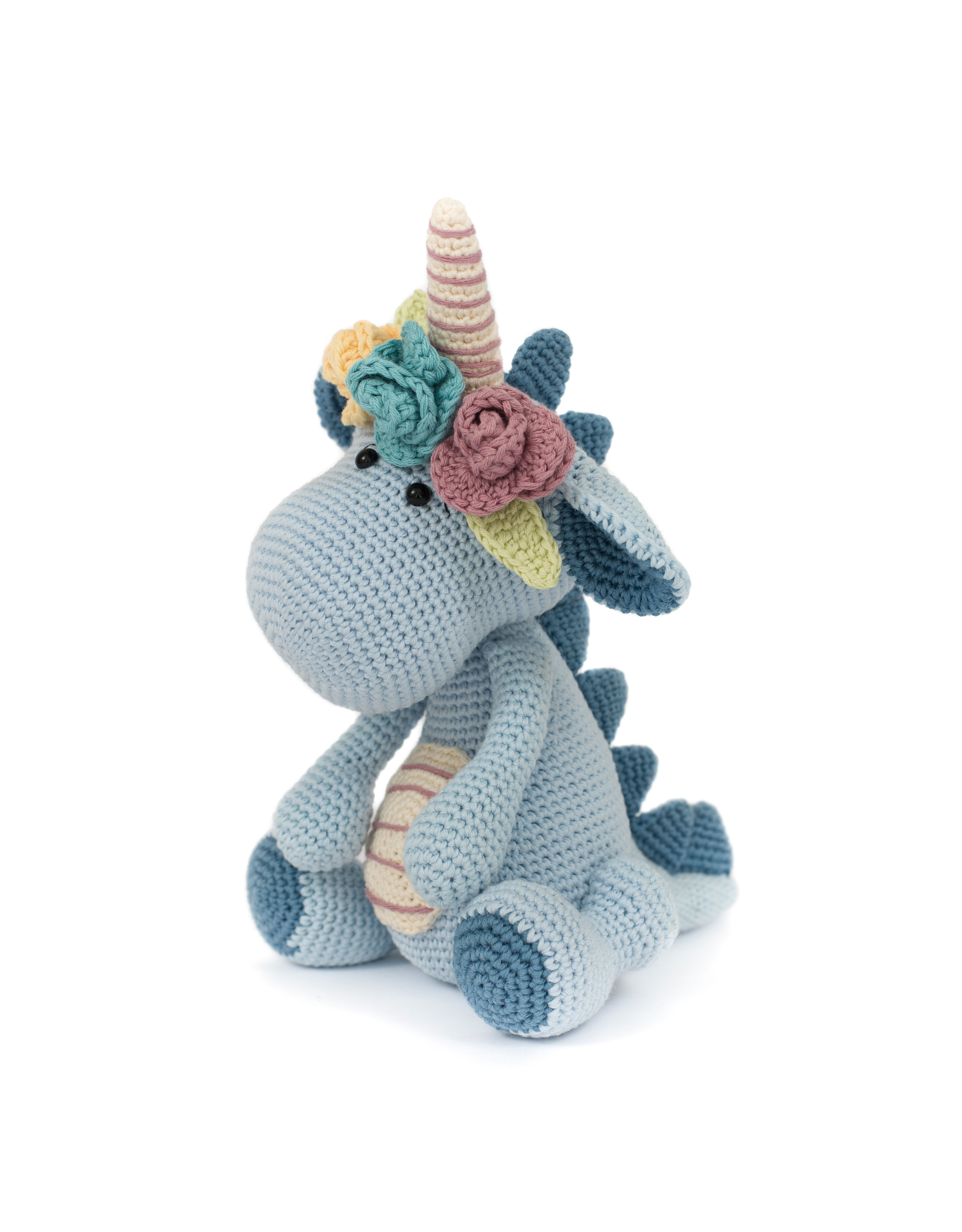 Bobby the dinocorn by LittleAquaGirl - pattern can be found in the ...