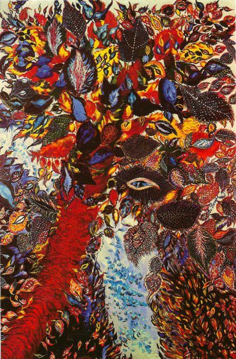 Seraphine Louis De Senlis Art Naive Art Painting