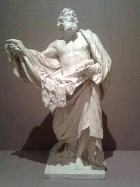 Hellenistic bronze statue of a man, The Metropolitan