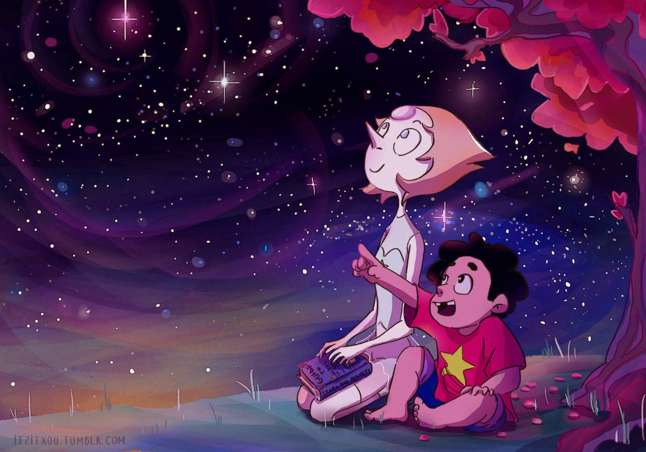 "Steven Universe Fan Art! — itzitxou: ""You know, I think I'd rather be here..."