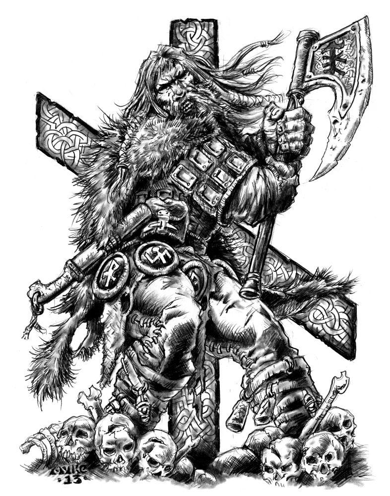 Тату картинки викингов