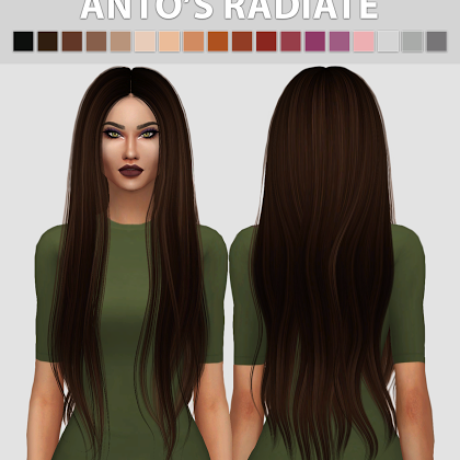 Épinglé sur Sims 4 Hair (Females)