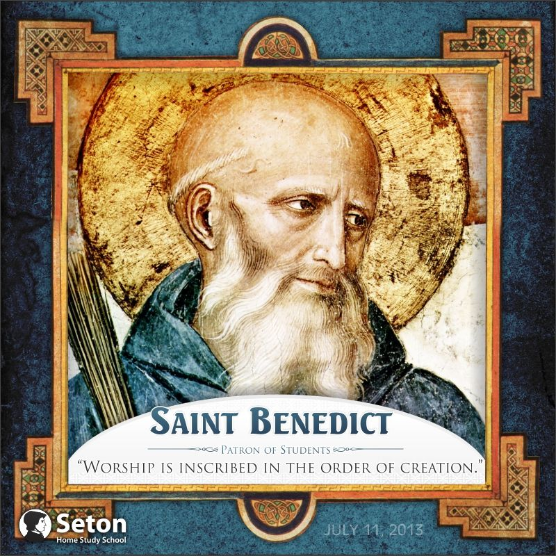 happy feast day st benedict the father of western
