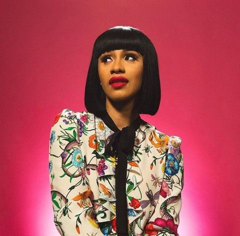 Image result for cardi b style
