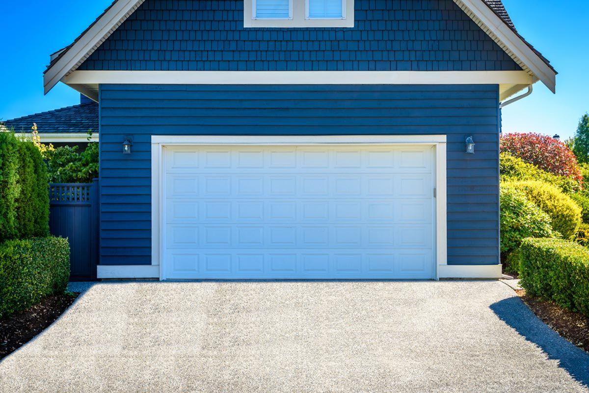 Two Car Garage With Apartment Loft Built Above In 2020 Building A Garage Prefab Garage With Apartment Prefab Garages