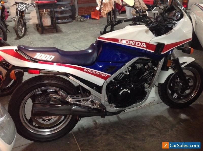 Motorcycle for Sale 1984 Honda VF1000F (With images