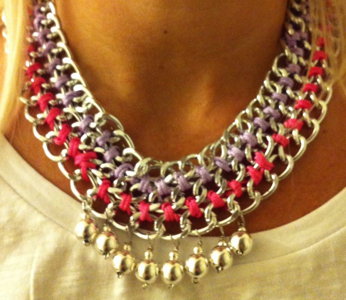 Statment neckles!!