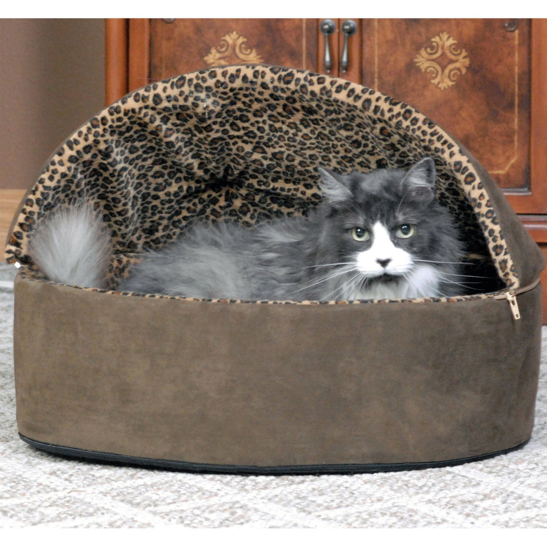 K&H Manufacturing Thermo Kitty Bed Deluxe 3195 Heated