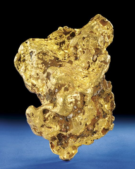 "Alaskan Gold Nugget...not really a Eureka! moment...but whatever the equivalent of an Alaskan triumphant ""Wow"""