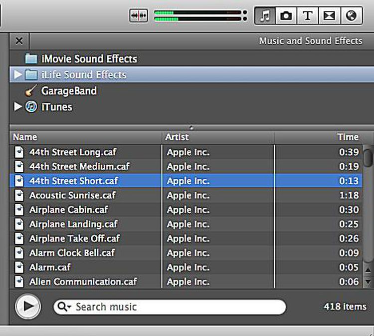 How to use music and fade effects in imovie 11 music