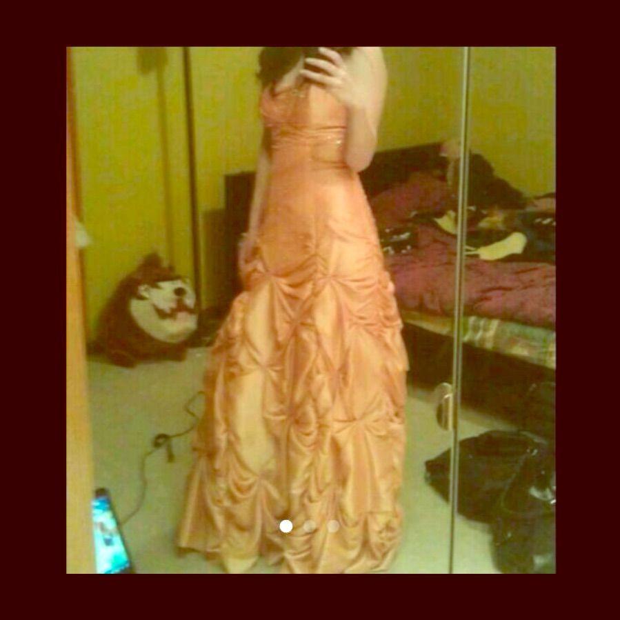 Nwt orange peach prom dress peach prom dresses and products
