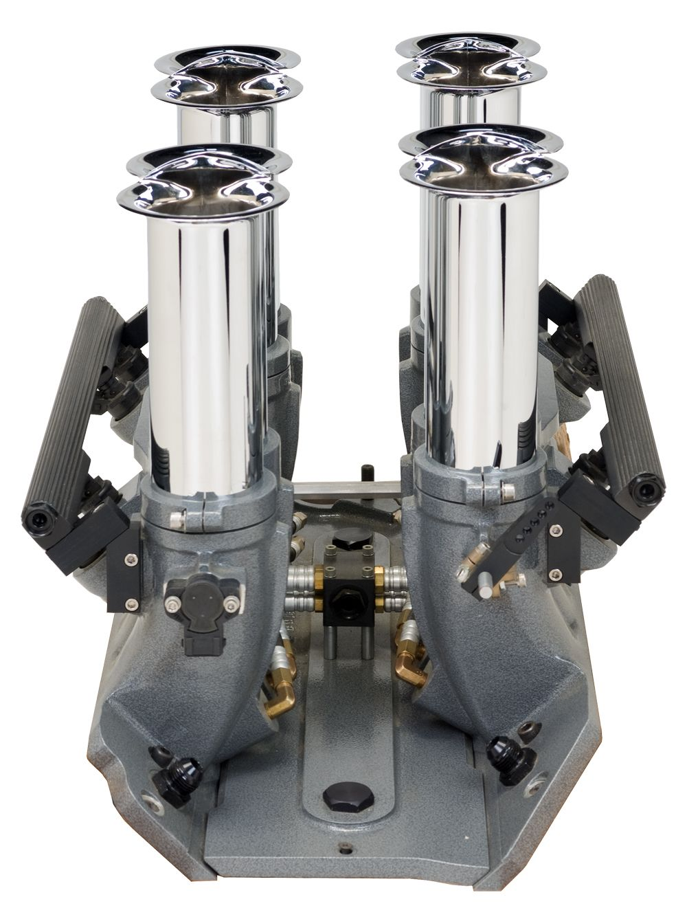 16 Inch Porn big blk chevy electronic fuel injector (3 inch bore) efi kit