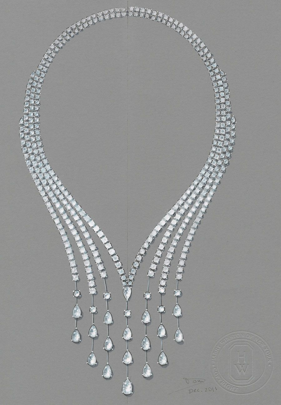 Harry Winston Shines Bright Blue At The Biennale Jewelry