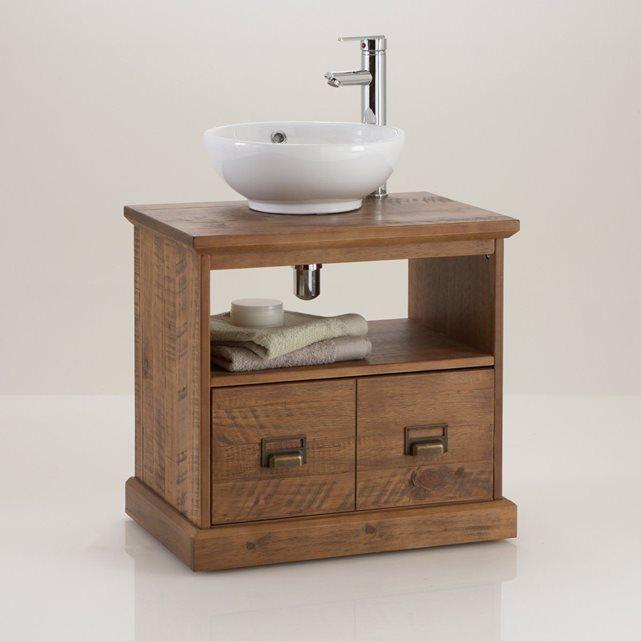 meuble sous lavabo de salle de bain lindley - Meuble Evier Salle De Bain