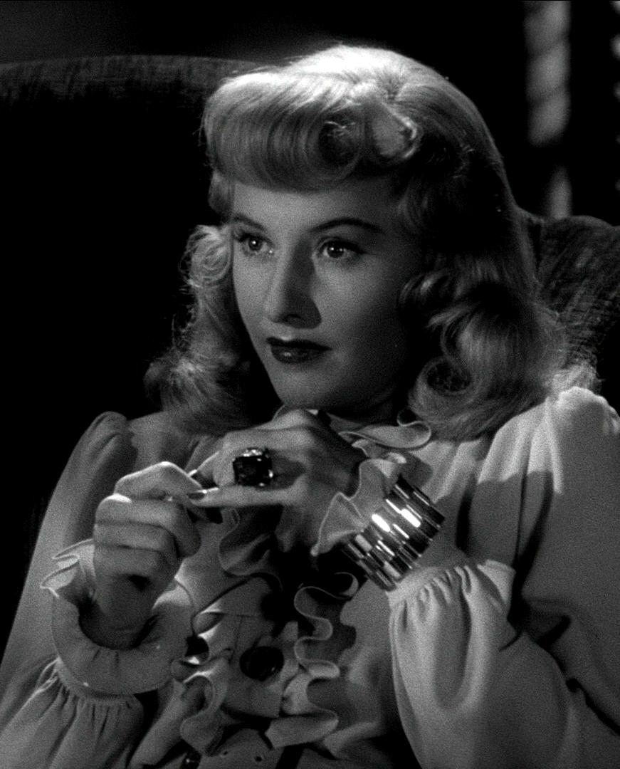 Barbara stanwyck, Double indemnity, Film noir