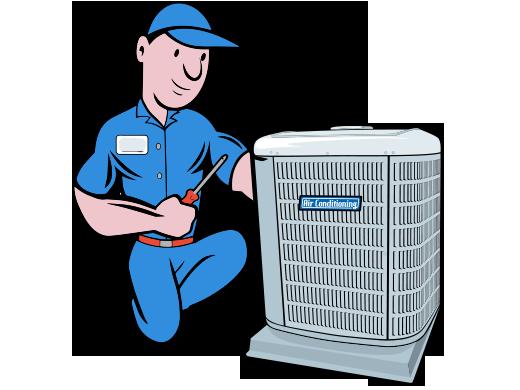 Cartoon Air Conditioning Repair Before You Call A Ac Repair Man