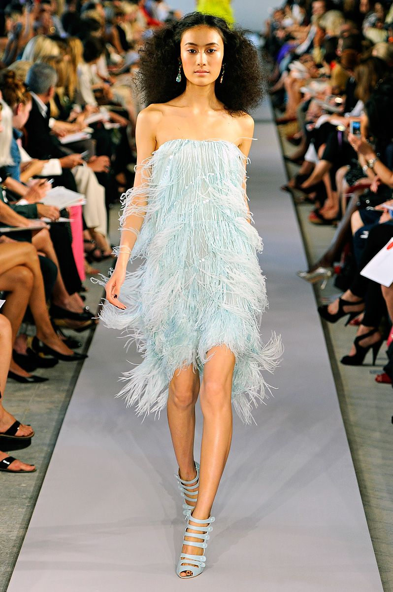 Oscar de la Renta. Spring 2012. This show has some of the beautiful women I have ever seen.