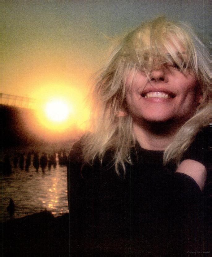 Debbie Harry circa 1986