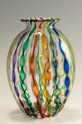 Robert Dane shown at Kittrell/Reffkind Art Glass