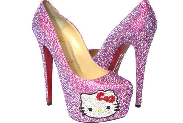 Different Pink High Heels Hello Kitty Different Impressions  My