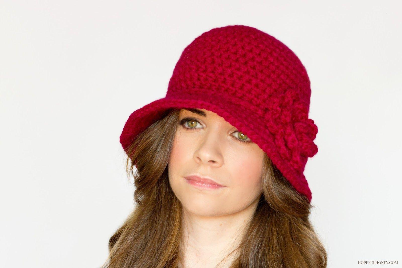 38170b0a8ad80 1920 s Cloche Hat - Free Crochet Pattern