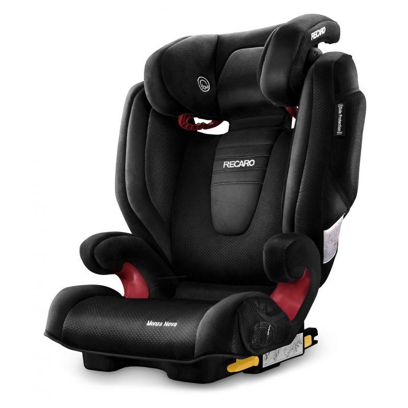 Recaro Monza Nova 2 Seatfix Group 23 Car Seat Black New 2015 Description Sporty Design Outstanding Protection Adv With Images Baby Car Seats Car Seats Child Car Seat