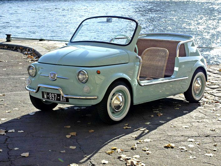 Fiat 500 Jolly Ghia With Images Fiat 500 Fiat Beach Cars