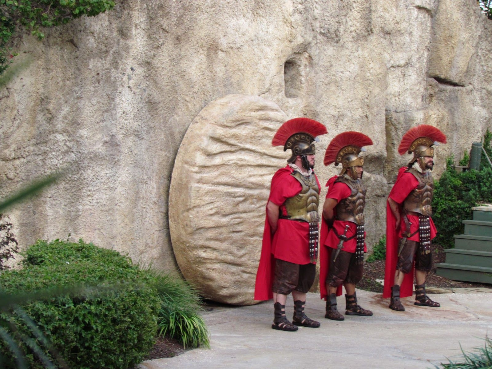 Image result for image of guards at the tomb of jesus