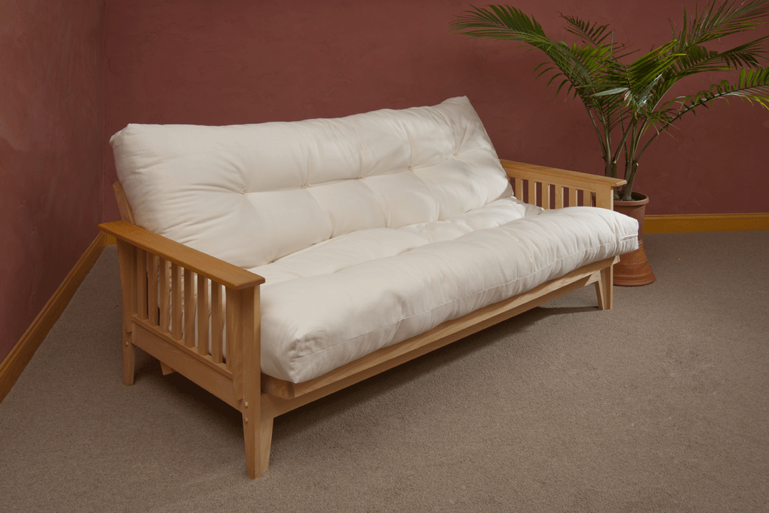 Organic Futon Mattress Thick Tufted This 8 Inch Is Rated Medium Firm