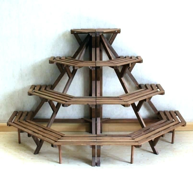 Plant Stand For Multiple Plants Indoor Plant Shelves Wooden