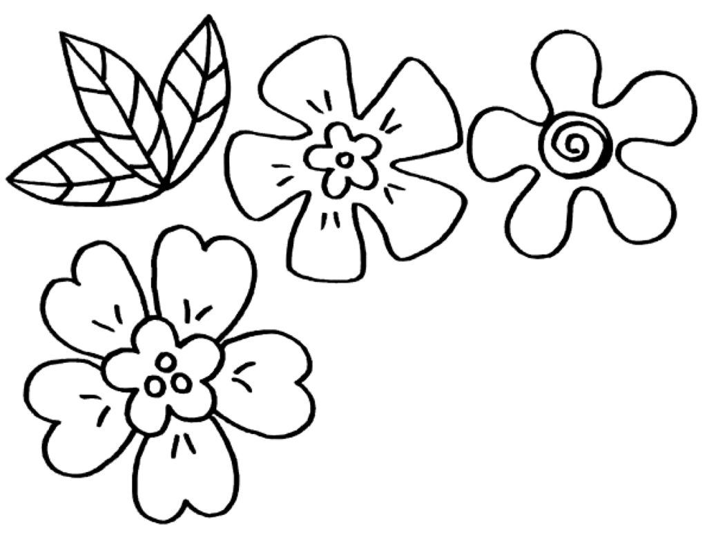 Ausmalbilder Frühling  myToys-Blog  Blumen ausmalbilder