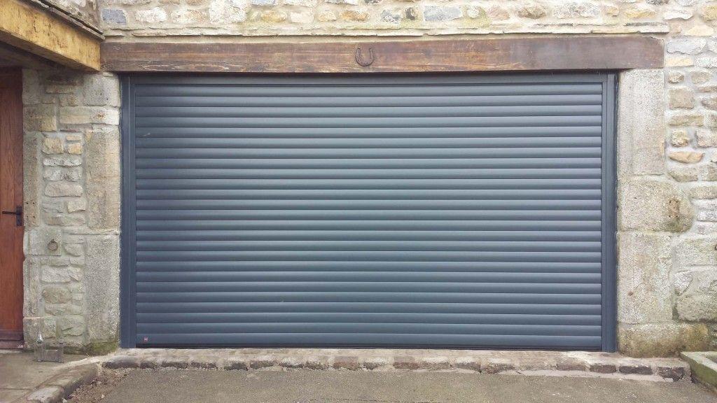 Hormann Rollmatic Roller Garage Door In Anthracite Grey By Abi