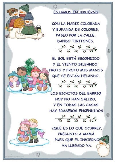 10 Poemas De Navidad Cortos10 Poemas De Navidad Cortos Poetry For Kids Christmas Poems Preschool Colors