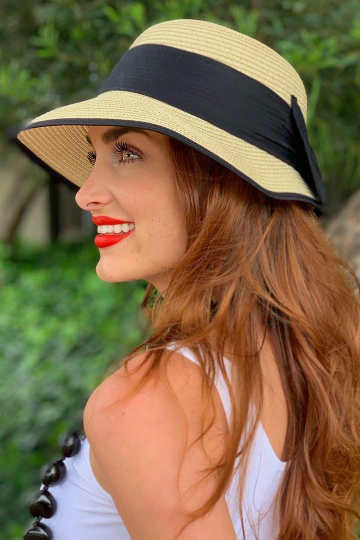 Tan Audrey Straw Hat Eva Franco Women Hats Fashion Summer Hats For Women Straw Hat
