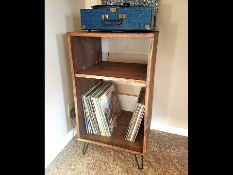 Diy Record Player Stand Record Player Stand Record Player Stand Diy Vinyl Record Stand
