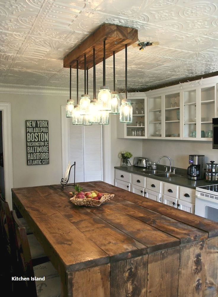 Kitchen Island Ideas Farmhouse