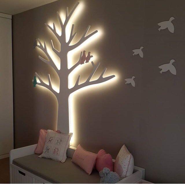 Lighted wall tree bedrooms pinterest light walls walls and lights lighted wall tree aloadofball Gallery