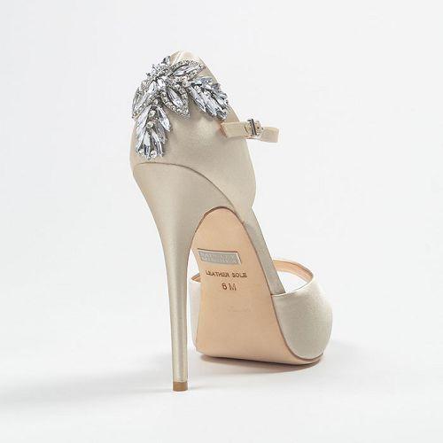 Nessa Badgley Mischka Wedding SHoes Design Inspirations