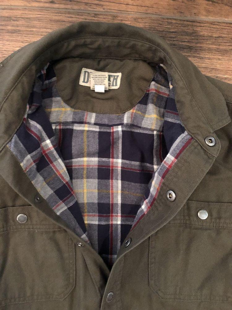 Men s Fire Hose Flannel-Lined Limber Jacket Shirt - Medium -  fashion   clothing  shoes  accessories  mensclothing  coatsjackets (ebay link) b816e85a5