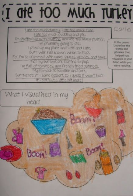 Thanksgiving Poetry Activity Thanksgiving And Fall In