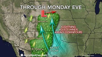 Heavy Storms to Expand From New Mexico to Colorado