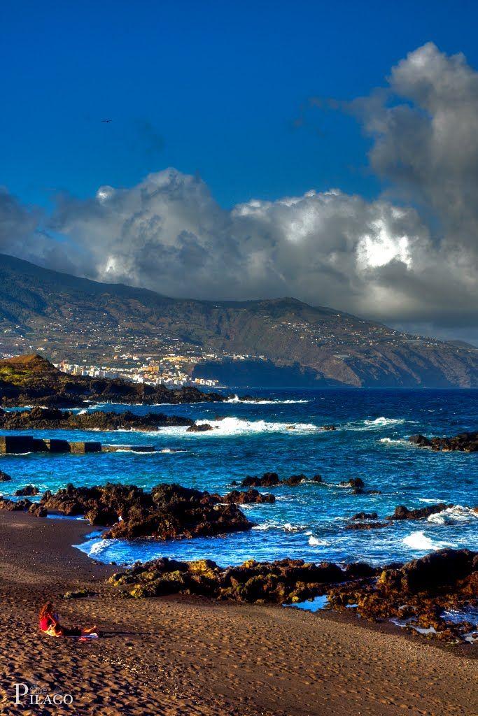 View of Santa Cruz de La Palma, Tenerife Spain ¦ pilago | Canary ...
