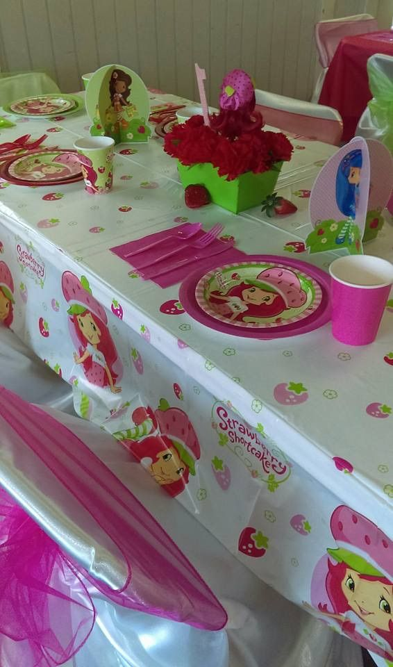 Great Idea for a Girl's Party! Strawberry Shortcake Theme)