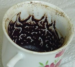 Image result for coffee grounds readings photos