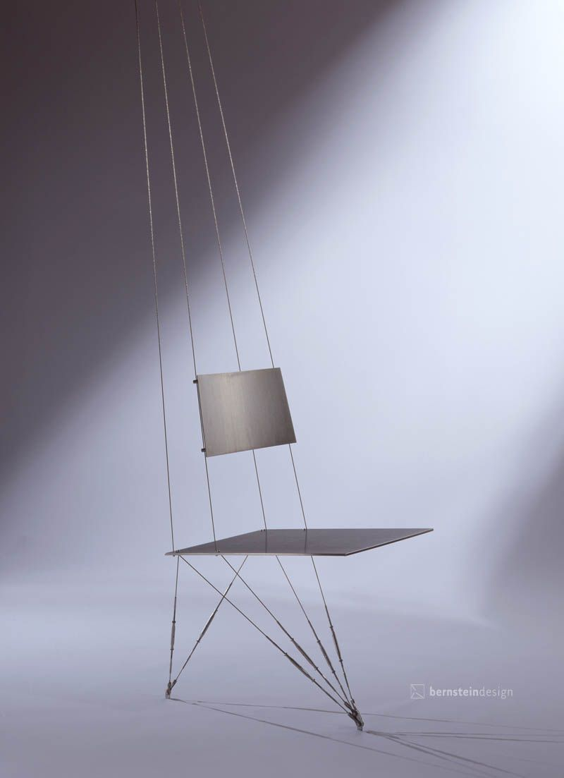 Suspended table by berstein architects - Floating Chair