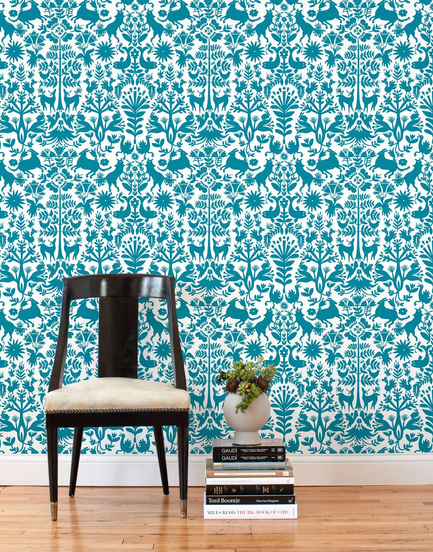Otomi (Turquoise) Tiles, Set of Tiles Turquoise tile
