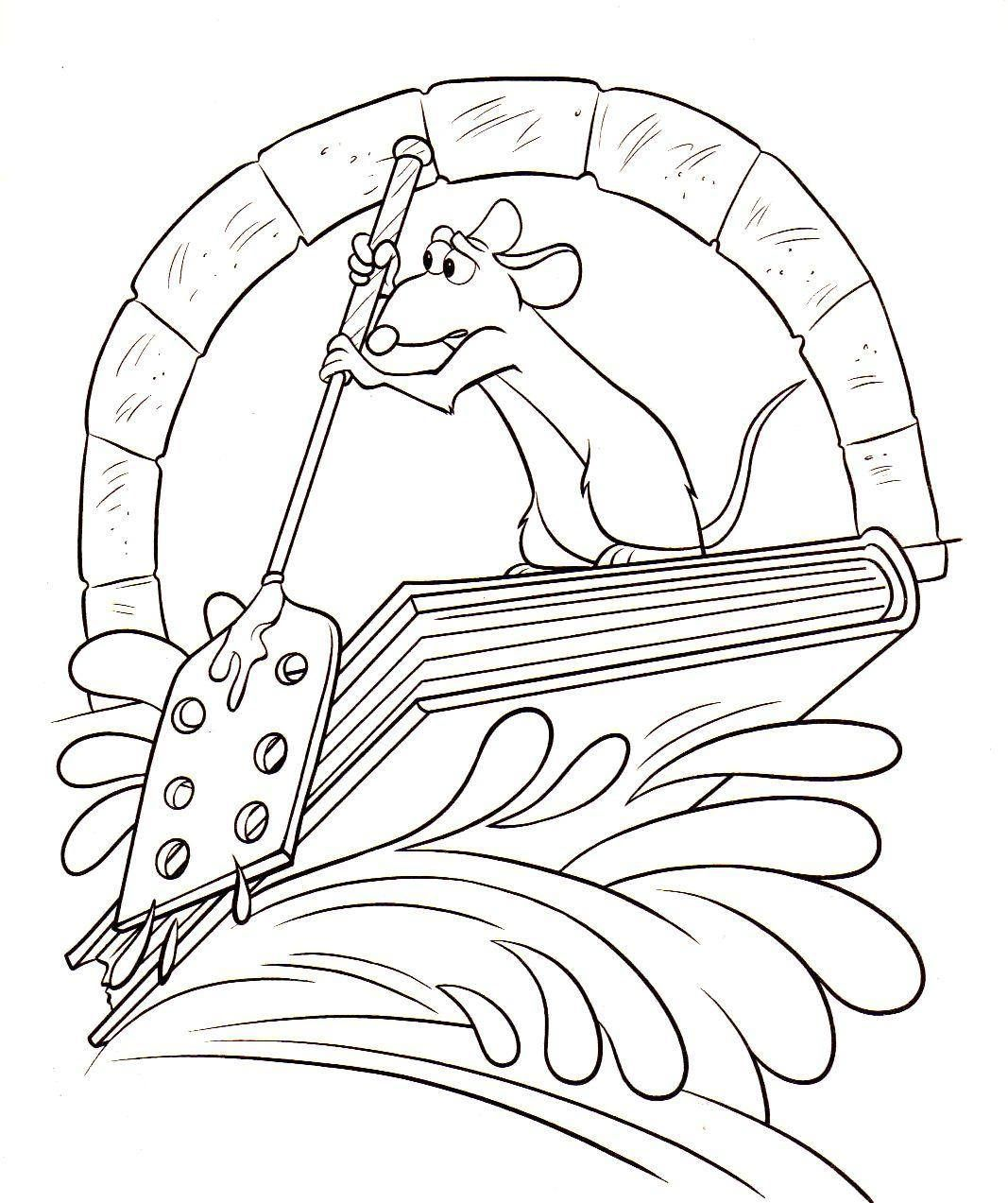 22++ Disney ratatouille coloring pages ideas in 2021